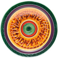Elite Global Solutions V121 Hot Cha-Cha Design 12 inch Round Plate - 6/Case