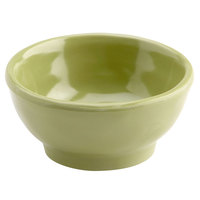 Elite Global Solutions D3C Tuscany 2 oz. Weeping Willow Green Melamine Ramekin - 6/Case
