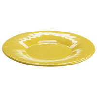 Elite Global Solutions D10P Tuscany 10 1/4 inch Mustard Yellow Melamine Plate - 6/Case