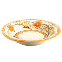 Elite Global Solutions D1178PB Tuscany 28 oz. Design Melamine Soup / Pasta Bowl - 6/Case