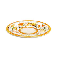 Elite Global Solutions D6P Tuscany 6 1/4 inch Design Melamine Plate - 6/Case