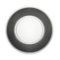 Elite Global Solutions D0005 Victoria 11 1/2 inch Ribbons Plate - 6/Case