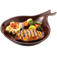 GET SK-2-BR Ultraware 16 oz. Brown Skillet - 12/Case