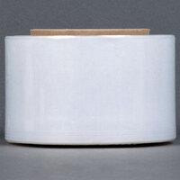 3 inch x 1000' 80 Gauge Stretch Banding Film / Pallet Wrap / Stretch Film - 18 Rolls / Case