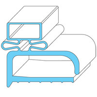 All Points 74-1137 Magnetic Door Gasket - 22 1/2 inch x 56 1/2 inch