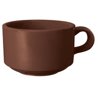 GET SC-10-BR Ultraware 10 oz. Brown SAN Plastic Mug - 24/Case