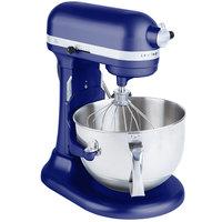 KitchenAid KP26M1XBU Cobalt Blue Professional 600 Series 6 Qt. Countertop Mixer