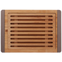 Elite Global Solutions BB1510BR Bamboards 15 inch Bamboo Cutting Board with Brown Trim