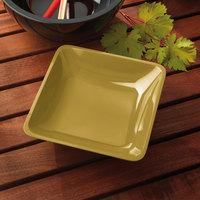 Elite Global Solutions M10SQ Belize Olive Oil 2.25 Qt. Square Melamine Bowl