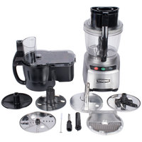 Waring WFP16SCDC Combination Continuous Feed Food Processor with 4 Qt. Bowl - 2 hp (Canadian Use Only)