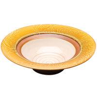 Elite Global Solutions V143 Artist 2.5 Qt. Fern Patterned Melamine Bowl