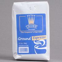 Crown Beverages 12 oz. Emperor's Ground Espresso