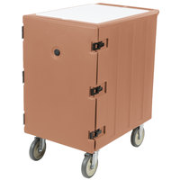 Cambro 1826LTC157 Camcart Coffee Beige Mobile Cart for 18 inch x 26 inch Sheet Pans and Trays