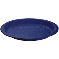 Tablecraft CW3325BS Blue Speckle Cast Aluminum Round Dessert Plate