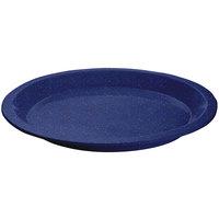 Tablecraft CW3325BS Blue Speckle Cast Aluminum Round Dessert Plate