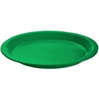 Tablecraft CW3325GN Green Cast Aluminum Round Dessert Plate