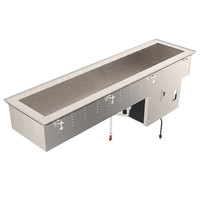 Vollrath 36658 Standard Short Side Four Pan Drop In Refrigerated Cold Food Well