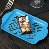 Tablecraft CW4210SBL Sky Blue Cast Aluminum Charbroiler Tray