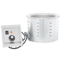 Vollrath 3646310 Modular Drop In 7.25 Qt. Soup Well with Thermostatic Controls - 208/240V, 960W