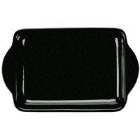 Tablecraft CW4210BKGS Black with Green Speckle Cast Aluminum Charbroiler Tray
