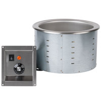 Vollrath 3646510 Modular Drop In 11 Qt. Soup Well with Thermostatic Controls - 208/240V, 960W