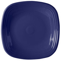 Homer Laughlin 919105 Fiesta Cobalt Blue 10 3/4 inch Square Plate - 12/Case