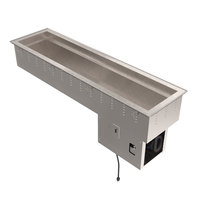 Vollrath 36656 Short Side Three Pan Drop In Refrigerated Cold Food Well