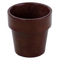Tablecraft CW1450MIS 18 oz. Midnight Speckle Cast Aluminum Round Condiment Bowl