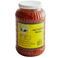 Del Sol 1 Gallon Hot Pepper Relish - 4/Case