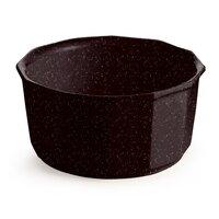 Tablecraft CW1790MIS 2.5 Qt. Midnight Speckle Cast Aluminum Prism Bowl