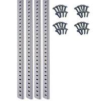 True 987799 52 inch Replacement White Shelf Standard - 4/Pack