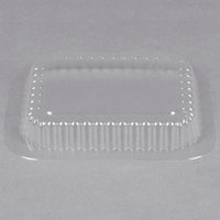 Clear Dome Lid for 1 lb. Oblong Foil Pan   - 1000/Case