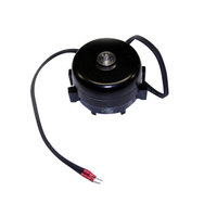 True 800402 Condenser Fan Motor with Silencer, Nut, and Screws - 115V, 9W