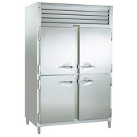Traulsen RET232NUT-HHS Stainless Steel 46 Cu. Ft. Two Section Half Door Even Thaw Reach In Refrigerator - Specification Line