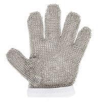Victorinox 81502 saf-T-gard GU-500 White Cut Resistant Stainless Steel Mesh Glove - Small