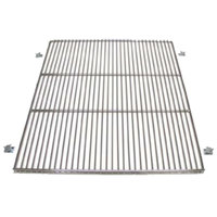 True 919451 Stainless Steel Wire Shelf with Shelf Supports - 23 1/2 inch x 28 13/16 inch