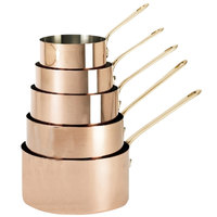 De Buyer 6445.20 3.7 Qt. Copper Sauce Pan