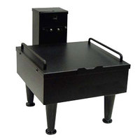 Bunn 27825.0003 Soft Heat Black Single Server Docking Station with 4 inch Adjustable Legs - 120V