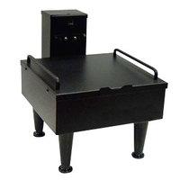 Bunn 27825.0003 Soft Heat Black Single Server Docking Station with 4 inch Adjustable Legs - 120V