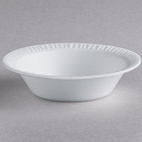 Dart 35BWWC Concorde 3.5-4 oz. White Non-Laminated Round Foam Bowl - 125/Pack
