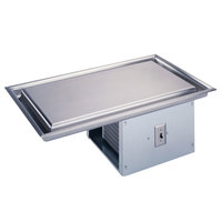 Vollrath 36420 Modular Three Pan Drop In Refrigerated Frost Top