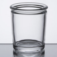 Sterno Products 80266 2 1/2 inch Petite Clear Glass Votive Liquid Candle Holder