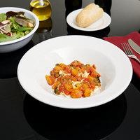 Tuxton BPD-105 DuraTux 24 oz. Bright White Tall China Pasta Bowl - 12/Case