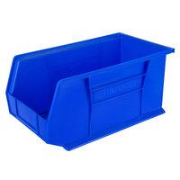 Metro MB30240B Blue Stack Bin 14 3/4 inch x 8 1/4 inch x 7 inch