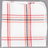 Chef Revival 706DC 13 inch x 14 inch Striped Waffle-Weave 100% Cotton Dish Cloth   - 12/Pack