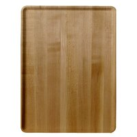Cambro 1219D307 12 inch x 19 inch Light Elm Wood-Look Dietary Tray - 12/Case
