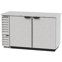 Beverage-Air BB58HC-1-S 59 inch Stainless Steel Solid Door Back Bar Refrigerator