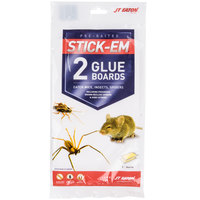 JT Eaton 198 Stick-Em Mouse and Insect Glue Board Traps - 2/Pack