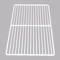 True 909280 White Coated Wire Shelf - 10 1/4 inch x 19 5/16 inch