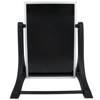 Aarco ROC-2 The Rocker Two Sided Markerboard with Stand - 24 inch x 36 inch
